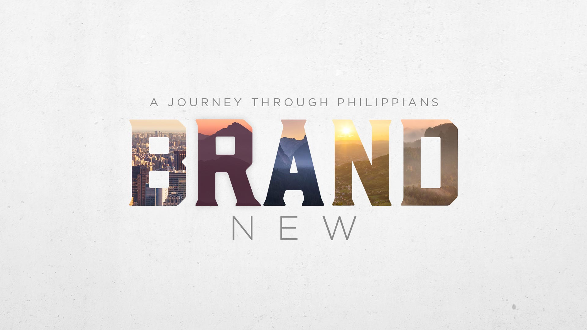 Brand New Series Graphic - Podcast - Listen to Recent Sermons - Greenville Community Church