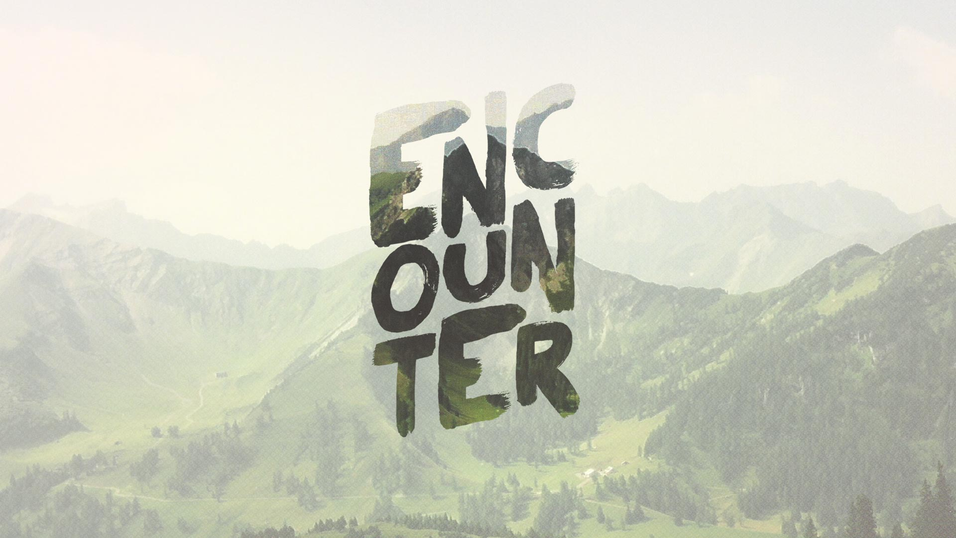 Encounter Series Graphic - Podcast - Listen to Recent Sermons - Greenville Community Church